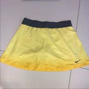 Women's Nike ombré dri fit tennis skirt
